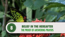 Belief in The Hereafter – 8 – The Proof of Answering Prayers