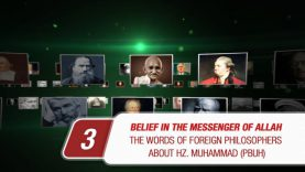 Belief in the Messenger of Allah # 3 The words of foreign philosophers about Hz. Muhammad (PBUH)
