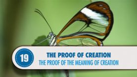Proof # 19: The Proof of the Meaning of Creation