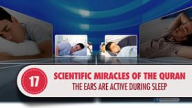 Scientific Miracles of the Quran, 17 – The Ears are Active during Sleep