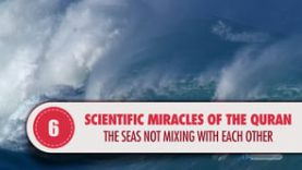 Scientific Miracles of the Quran, 6 – The seas not mixing with each other